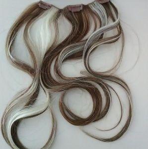 Clip in hair dual set